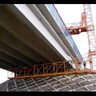Мостовые машины в строительстве и реконструкции мостов