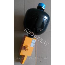 Гидроаккумулятор с блоком зарядки ACCUMULATOR with a feeding unit 0,75L 14K0061A